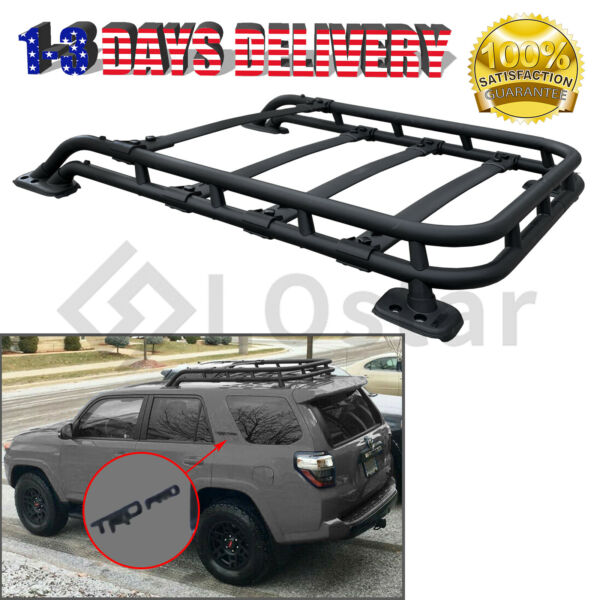 TRD PRO Style Roof Rack Rail Top Cargo Luggage Carrier For 10 21 Toyota 4Runner $395.50