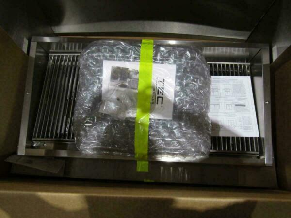 New TEC Sterling Patio 2 Infrared Natural Gas Built In Grill STPFR2NT Dented Lid