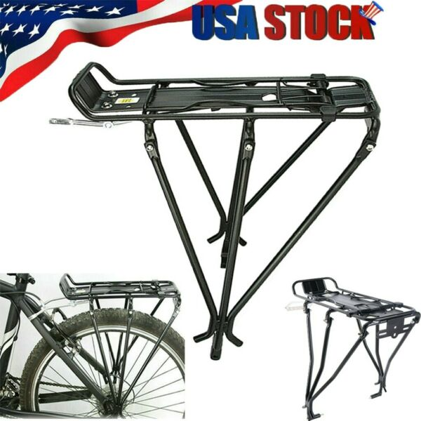 Universal Bicycle Back Rear Rack Adjustable Bike Cycling Cargo Luggage Carrier $24.85
