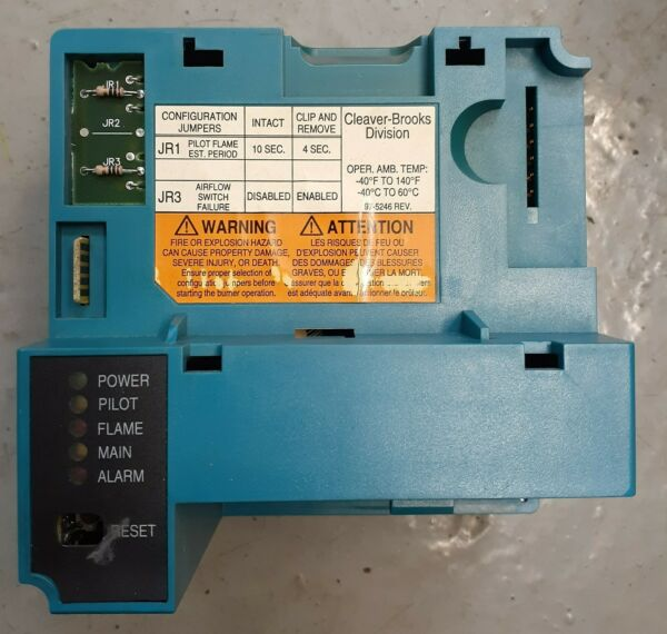 Honeywell RM7800 Flame Safeguard Primary Boiler Control Used operation tested $275.00