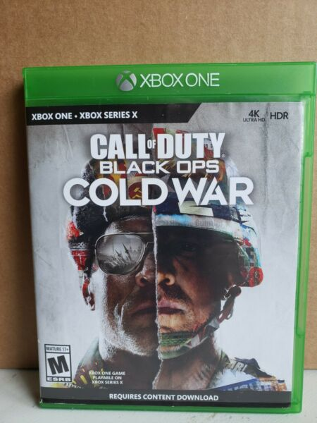 CALL OF DUTY: Black Ops Cold War Microsoft Xbox Series X S 4K HDR $35.00
