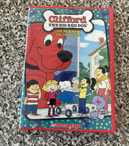 Clifford The Big Red Dog: New Baby on the Block DVD #8 $7.99