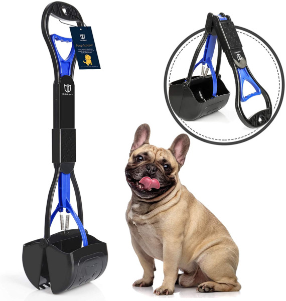 DEGBIT Non Breakable Dog Pooper Scooper For Large amp; Small Dogs Long Handle NEW $12.75