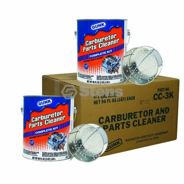 Carburetor and Parts Cleaner For Four 1 gallon cans $139.12