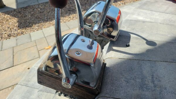 Morse Marine Engine dual lever throttle and engine control box shifter. $159.00