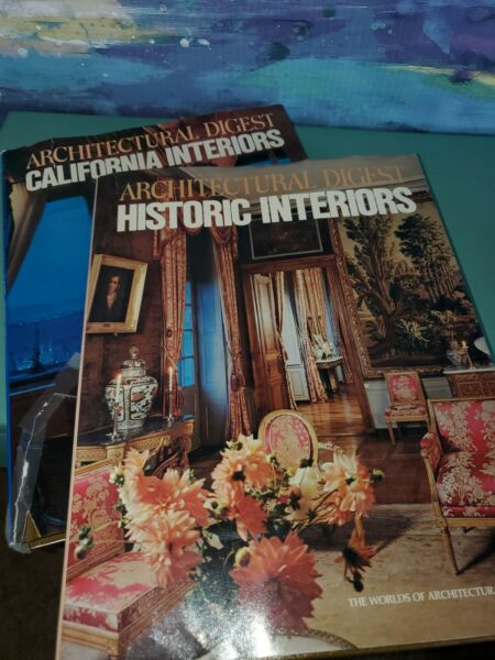 Pair Of Coffee Table Books