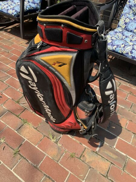 TaylorMade R7 Stand Bag Tour Preferred 6 Way Divider Good Condition w Strap
