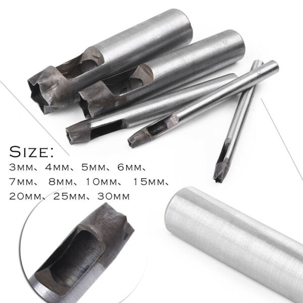 Five pointed Star Leather Punch Hole Tool For Leather Craft DIY Carbon Steel US $14.44