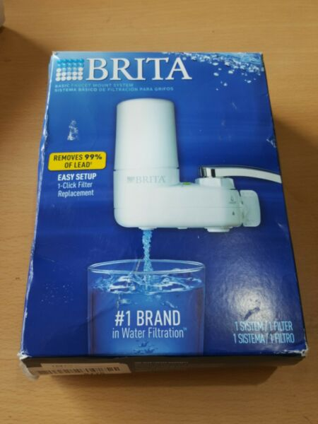 Brita Basic Faucet Mount System Pre owned I3