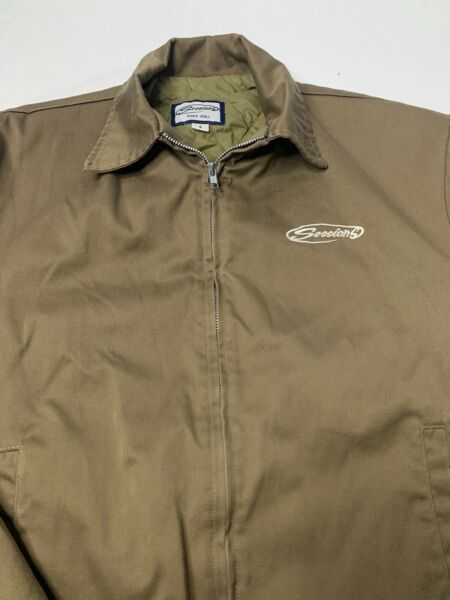 Sessions Canvas Jacket Quilted Lining Size S