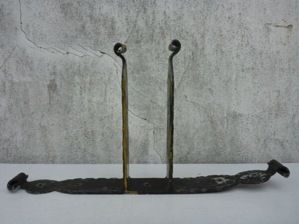 Old Heavy Mount Stand Iron Angle Wrought Iron 30 1 8x15 11 16in 18.1lbs $28.39
