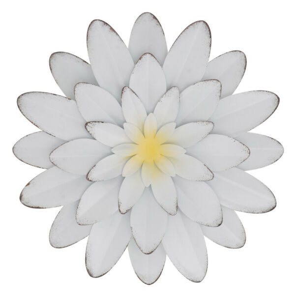 1Pc Iron Flower Iron Craft Flower Scene Decor for Home Wall Apartment $29.73