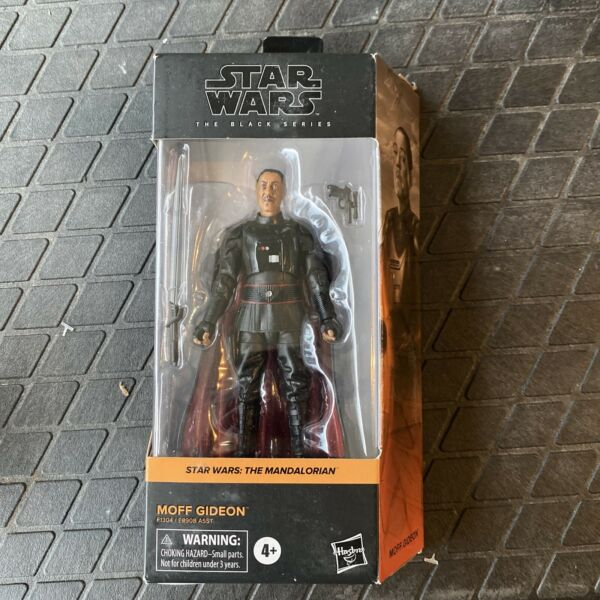 NEW Star Wars The Black Series Moff Gideon 6quot; Action Figure DAMAGED BOX
