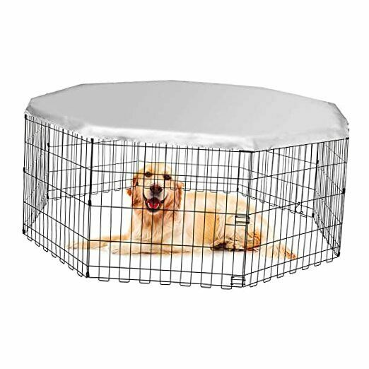 Dog Playpen Cover Dog Crate Cover for Outdoor and Indoor Dog Crate Covers $30.28