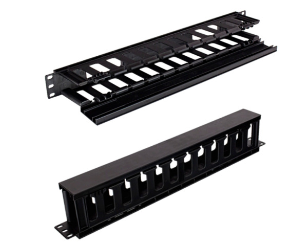 RAMPFD1 1U Horizontal Rack Mount Cable Manager Plastic Finger Duct 4 PACK $55.00
