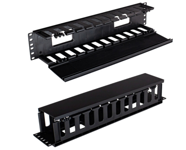 RAMPFD2 2U Horizontal Rack Mount Cable Manager Plastic Finger Duct 4 PACK $74.00