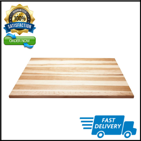 Large Reversible Canadian Maple Cutting Board Durable for Kitchen 18quot; x 24quot; $64.76