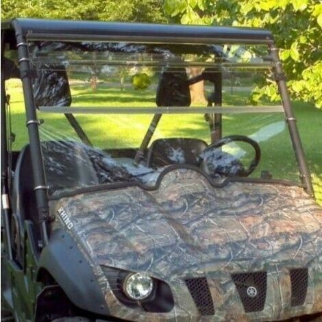Yamaha Rhino 450660700 All Years Clear Folding Windshield..A Full 1 4quot; THICK $234.99