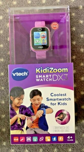 VTech Kidizoom Smartwatch DX3 Purple New In The Box Free Shipping