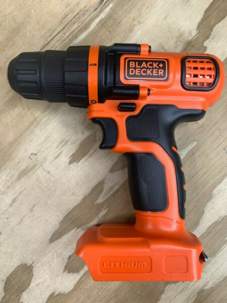 Black amp; Decker LDX120C 20 Volt 3 8 Inch Chuck Drill Driver BARE TOOL ONLY