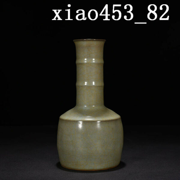 antique Chinese Porcelain Song dynasty offcial kiln wooden bottles
