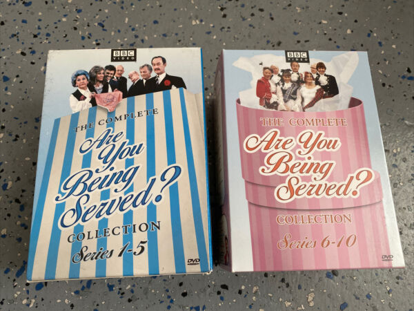 Are You Being Served The Complete Collection Series 1 5 DVD 2001 1972 $27.99