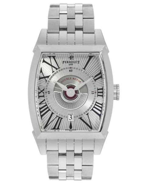 Perrelet Double Rotor Automatic Men#x27;s Watch A1029 A $1295.00