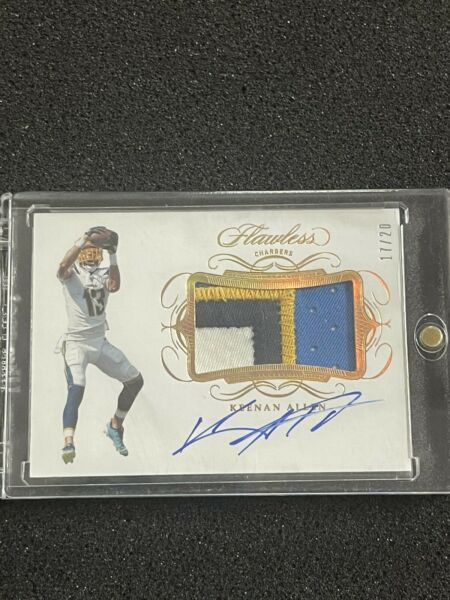 2019 flawless keenan allen 4 color patch auto 20 $129.00