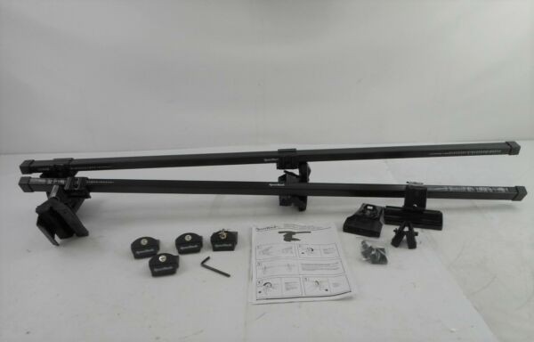 SportRack SR1010 Complete Roof Rack System 130lbs Weight Limit Black $94.01