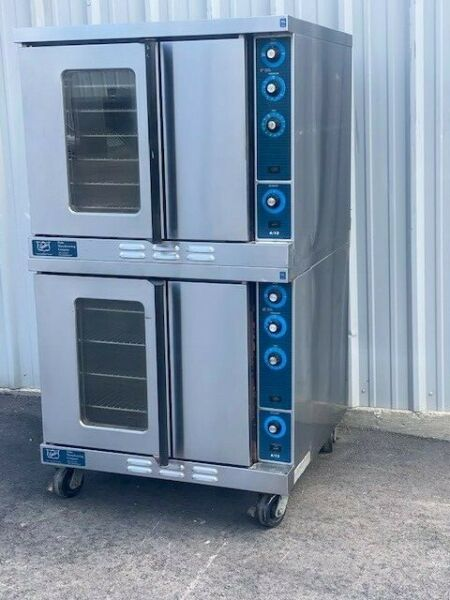 Duke Double Stack Convection Ovens Nat. Gas VIDEO