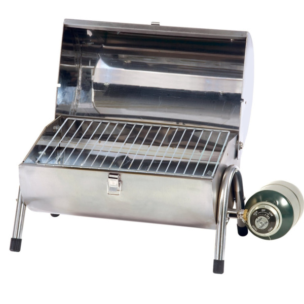 Gas Barbeque Grill Stainless Steel Outdoor Picnic Portable Tailgate Party Cooker