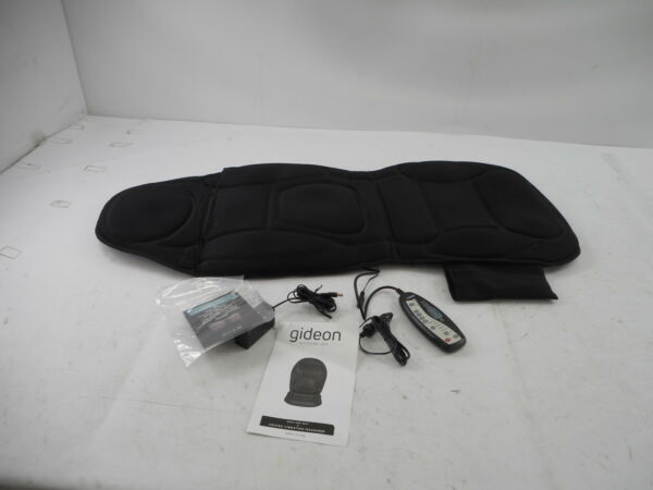 Gideon Seat Cushion Vibrating Back Massager with Heat for Shoulder and Thighs $55.69