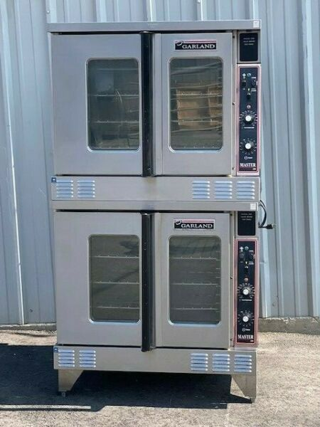 Garland Double Stack Convection Ovens Natural Gas Video Demo