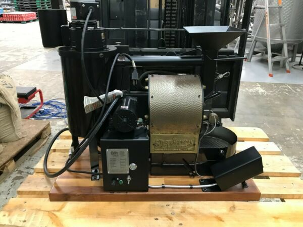 San Franciscan SF 1 Coffee Roaster Black and Brass excellent Condition