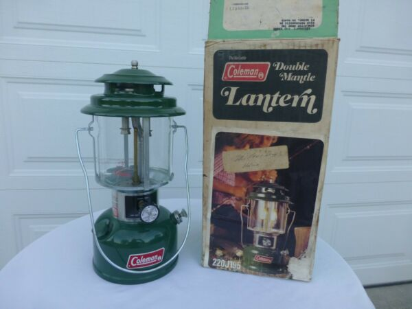 NEW UNFIRED Coleman Lantern 220J with box dated May of 1977 5 77 $119.00