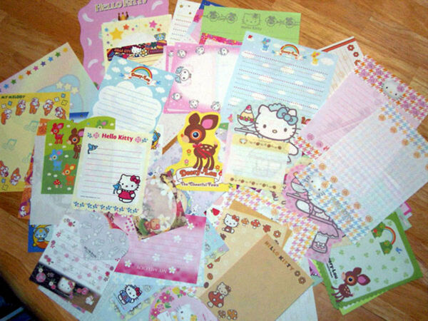 Lot Sanrio Hello Kitty Stationery Stationary Memo Paper 60 sheets