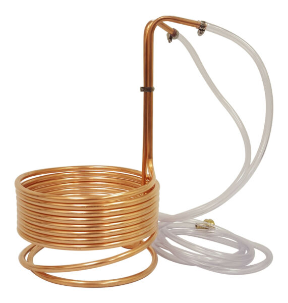 NY Brew Supply 25' Copper Wort Chiller 38