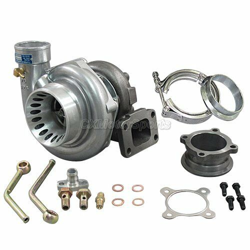 CXRacing GT35 T3 Turbo Charger Anti-Surge 500+ HP w/ All Accessories 3