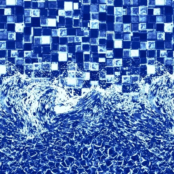 LinerWorld GLIMMERGLASS Above Ground Overlap Swimming Pool Liner ALL SIZES