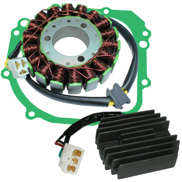 Stator amp; Regulator Rectifier for Suzuki GSX R600 2001 2002 2003 With Gasket $56.60