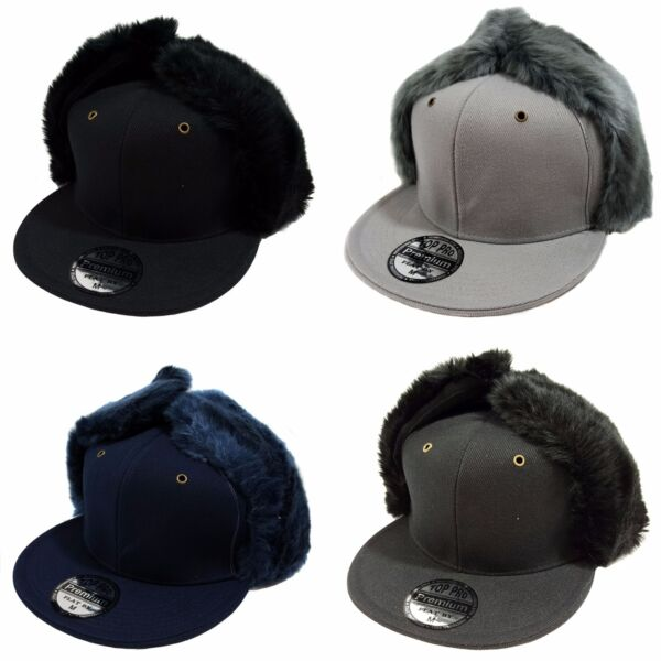 Dog Ear Fitted Fur Cap