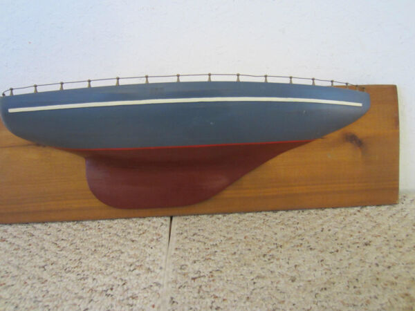 WOODEN HALF MODEL HAND MADE FROM SCRATCH $225.00