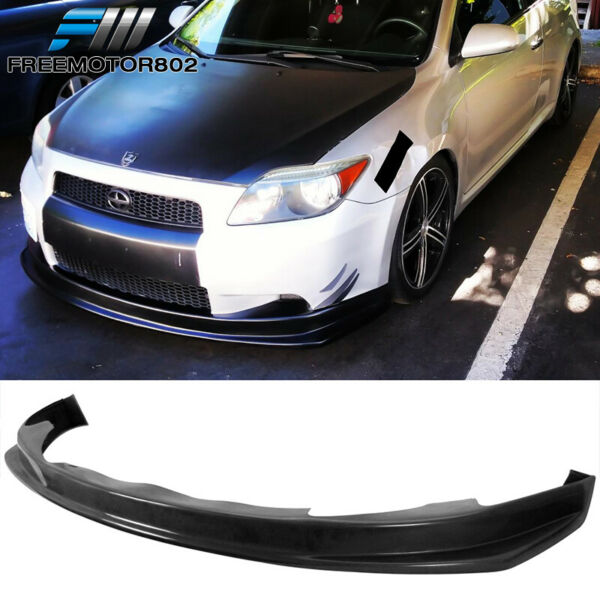 FITS 04-10 SCION TC FRONT BUMPER LIP SPOILER BODY KIT PU POLY URETHANE