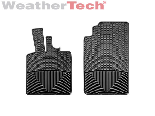 WeatherTech All Weather Floor Mats for Smart Car Fortwo 2008 2011 Black $69.95