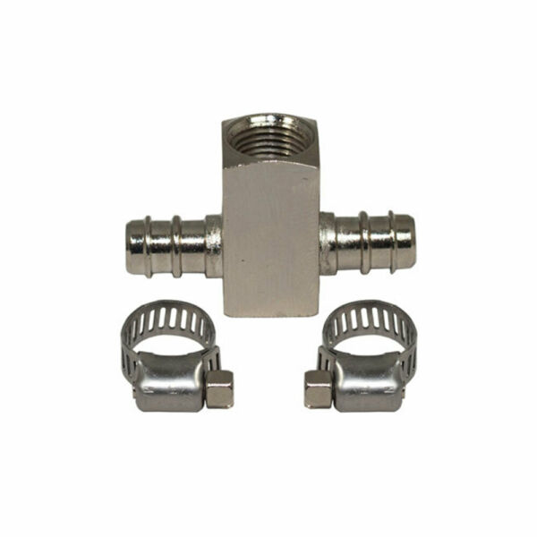 T-FITTING ADAPTER FOR BOOST GAUGES POWERSTROKE MAP LINE BOOST LINE 1/8NPT DIESEL