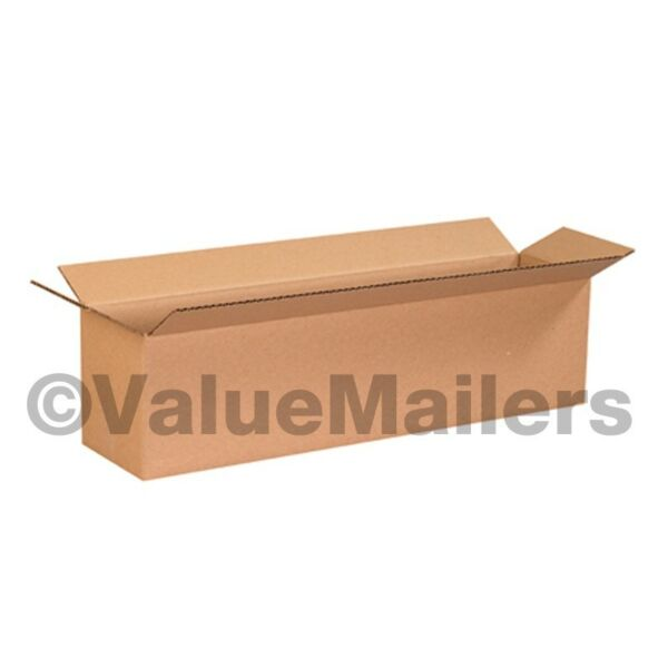 100 12x4x4 Cardboard Shipping Boxes Cartons Packing Moving Mailing Box $38.66