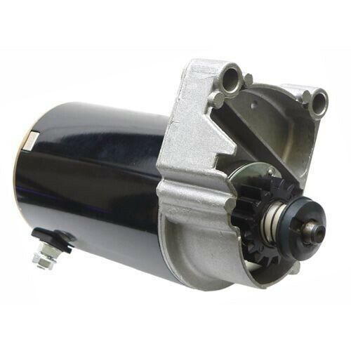 Starter for Briggs & Stratton 498148 497596 V Twin Cylinder HD Free Gear