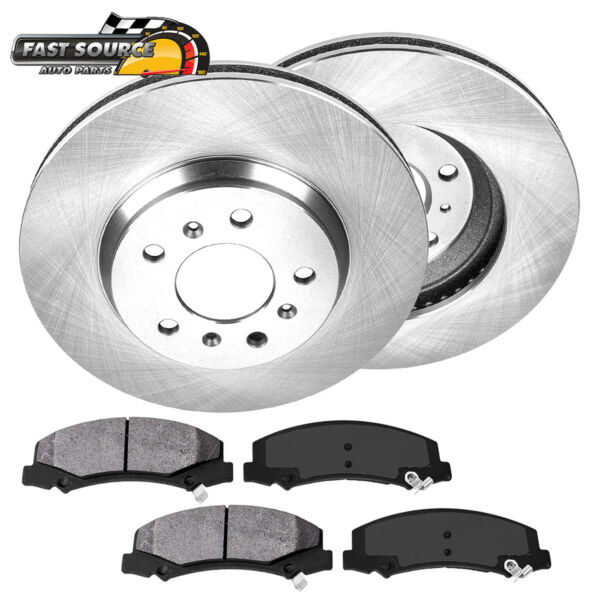 Front Brake Rotors And Metallic Pads For Chevy Impala Monte Carlo Buick Lucerne