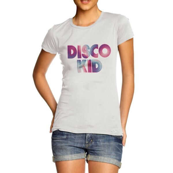 Twisted Envy Women#x27;s Disco Kid T Shirt
