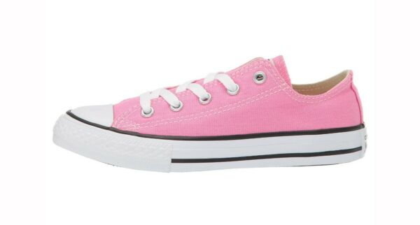 CONVERSE Chuck Taylor All Star Low Top Pink Shoes Youth Girls Sneakers 3J238